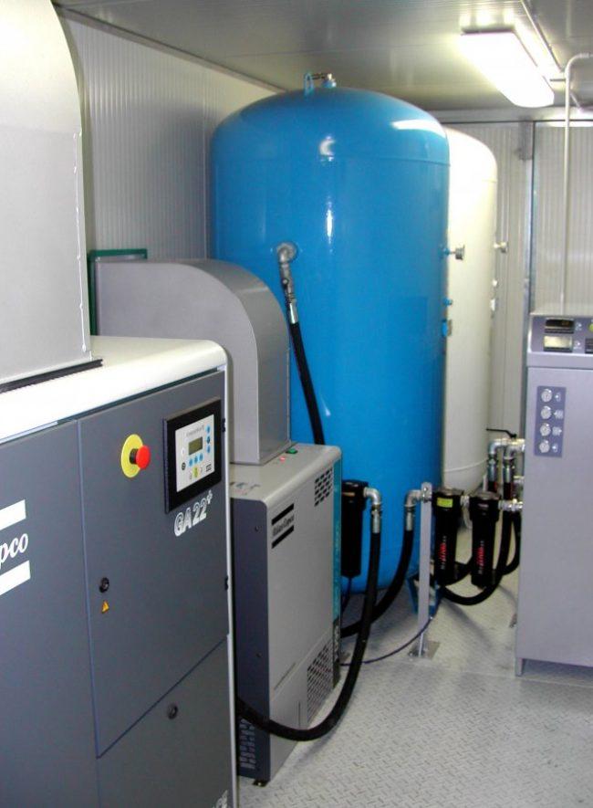 Impianto per azoto in container